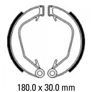 FERODO BRAKE SHOES FSB922