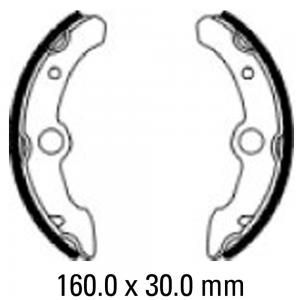 FERODO BRAKE SHOES FSB928