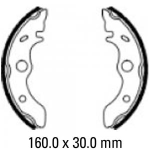 FERODO BRAKE SHOES FSB932
