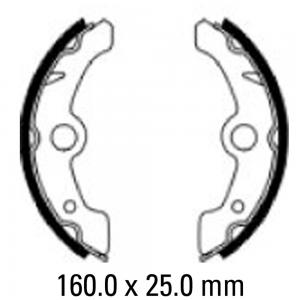 FERODO BRAKE SHOES FSB933