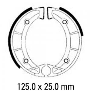 FERODO BRAKE SHOES FSB939