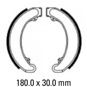 FERODO BRAKE SHOES FSB943