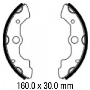 FERODO BRAKE SHOES FSB944