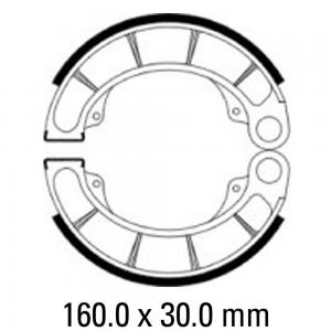 FERODO BRAKE SHOES FSB946