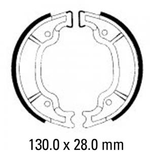 FERODO BRAKE SHOES FSB947 USE 02-0947-50   ****