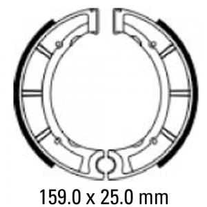 FERODO BRAKE SHOES FSB948