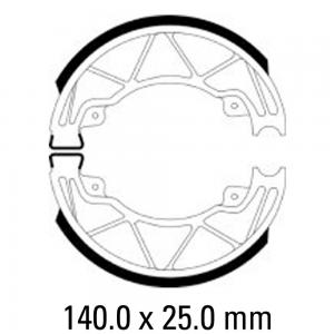 FERODO BRAKE SHOES FSB954