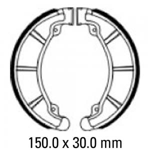 FERODO BRAKE SHOES FSB959