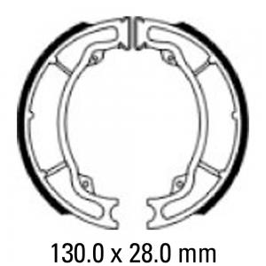 FERODO BRAKE SHOES FSB960