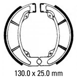 FERODO BRAKE SHOES FSB963