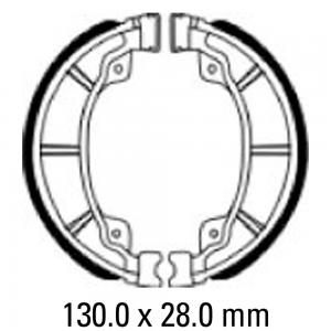 FERODO BRAKE SHOES FSB964