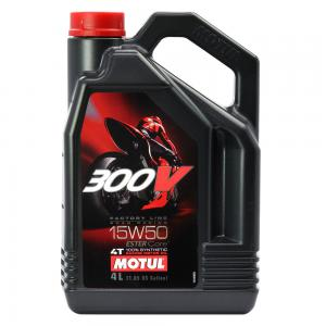 MOTUL 300V FACTORYLINE 100% SYNTHETIC ESTER 15W50