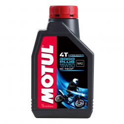 MOTUL 3000 PLUS 15w50 SEMI/SYN 1L (BOX 20)
