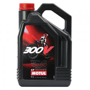 MOTUL 300V FACTORYLINE 100% SYNTHETIC ESTER 15W60