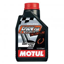 MOTUL FORK OIL FACTORY 2.5W 1L(BOX 6)