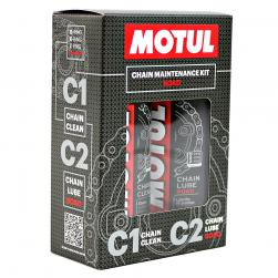 MOTUL MINI CHAIN LUBE/CLEAN PACK ROAD