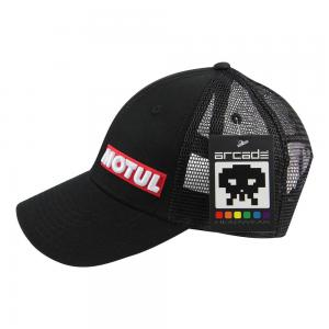 CAP MOTUL TRUCKER BLACK