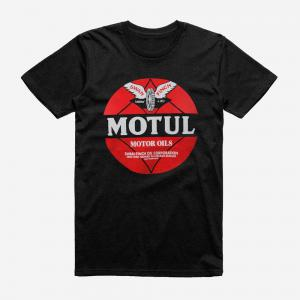MOTUL T-SHIRT RETRO BLACK SMALL