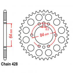 SPROCKET 45T HONDA