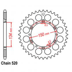 SPROCKET 42T KAW, SUZ