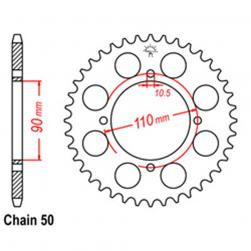 SPROCKET 38T YAMAHA