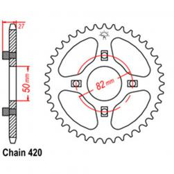 SPROCKET 35T HONDA