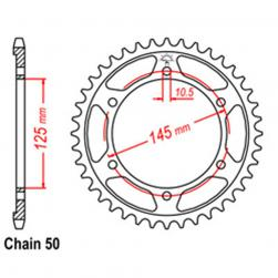 SPROCKET 44T YAMAHA