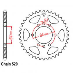 SPROCKET 39T KAW, SUZ
