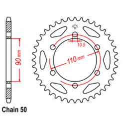 SPROCKET 34T YAMAHA