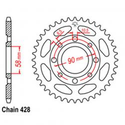 SPROCKET 34T HONDA