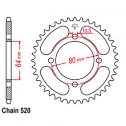 SPROCKET 32T YAMAHA