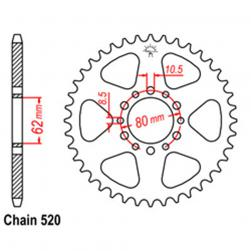 SPROCKET 40T YAMAHA