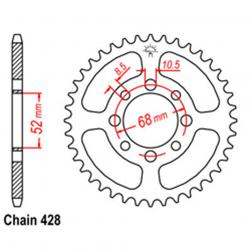 SPROCKET 32T KAW, SUZ