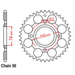 SPROCKET 41T YAMAHA