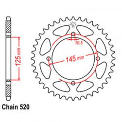 SPROCKET 39T YAMAHA