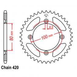 SPROCKET 36T HONDA