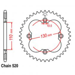 SPROCKET 38T HONDA