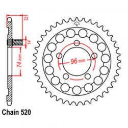 SPROCKET 40T HONDA
