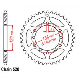 SPROCKET 37T YAMAHA