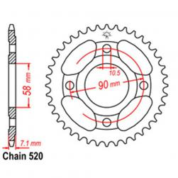SPROCKET 31T HONDA