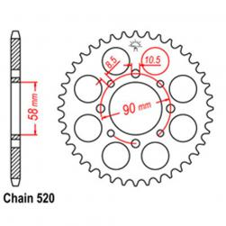 SPROCKET 41T HONDA