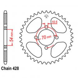 SPROCKET 42T HONDA