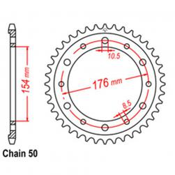 SPROCKET 43T HONDA