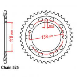 SPROCKET 39T HONDA