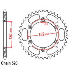 SPROCKET 42T BMW 520p