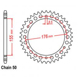 SPROCKET 42T TRIUMPH