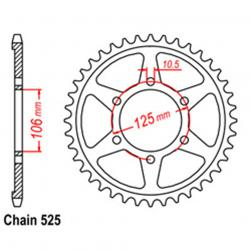 SPROCKET 37T TRIUMPH