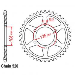 SPROCKET 41T TRIUMPH