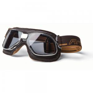 GOGGLE ARIETE VINTAGE AVIATOR BROWN