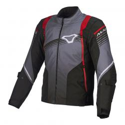 "MACNA CHARGER JACKET BLK/ GRY/ RED 40"" MD"